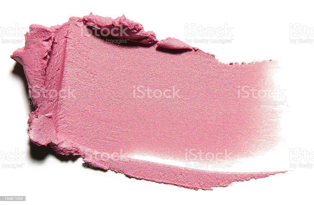 Compact cream stock photo