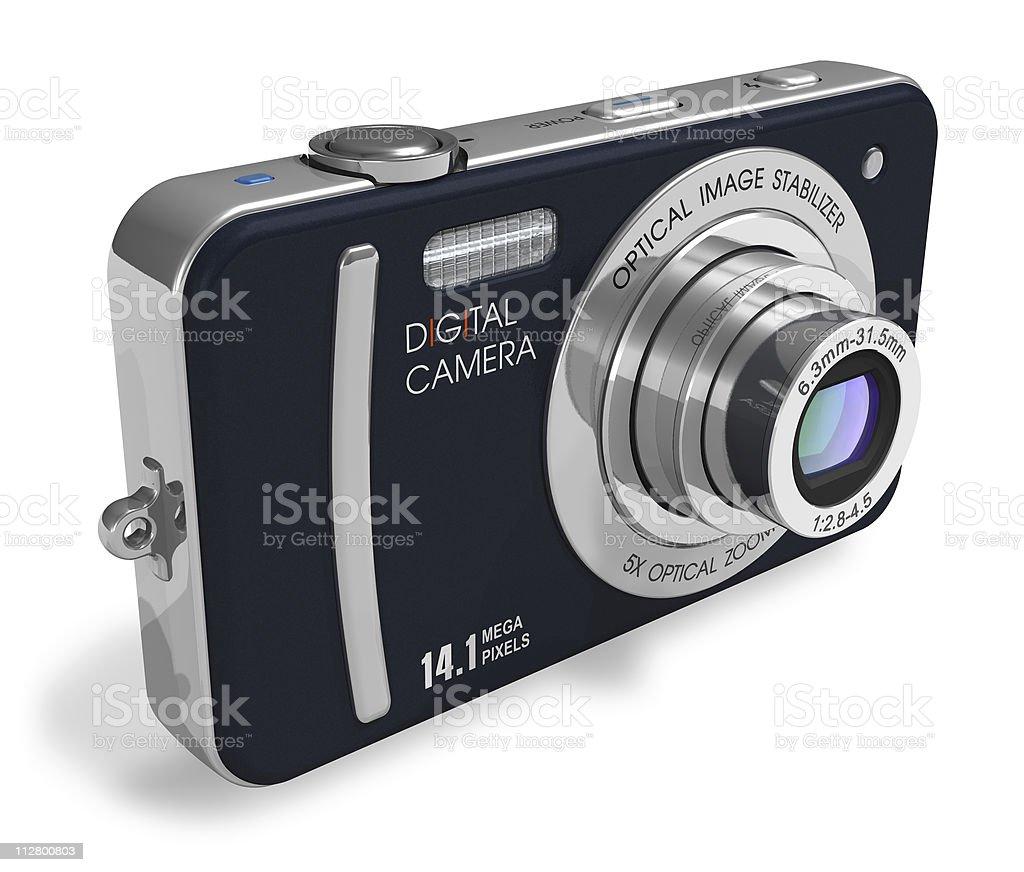 Compact digital camera stock photo