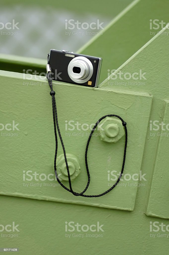 Compact digital camera stock photo