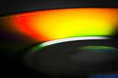 Compact disc close-up