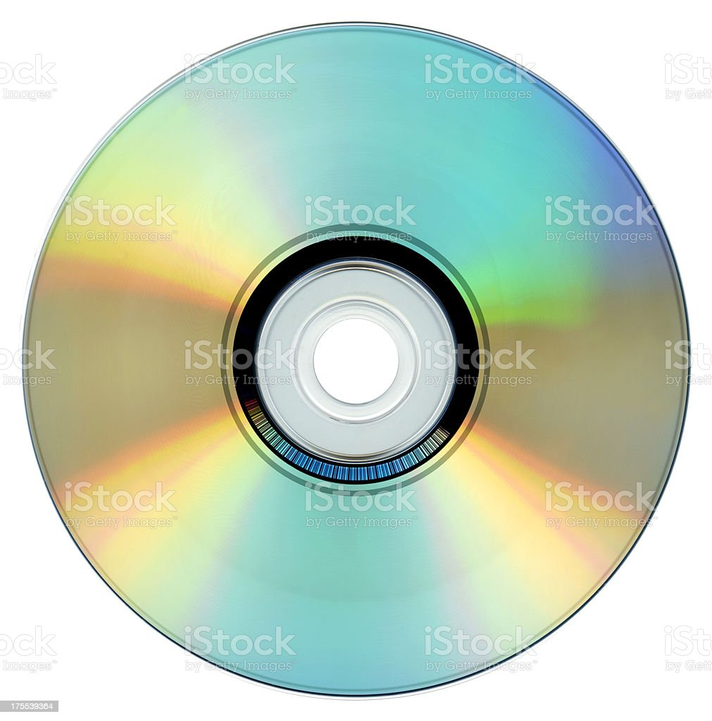 Compact Disc stock photo