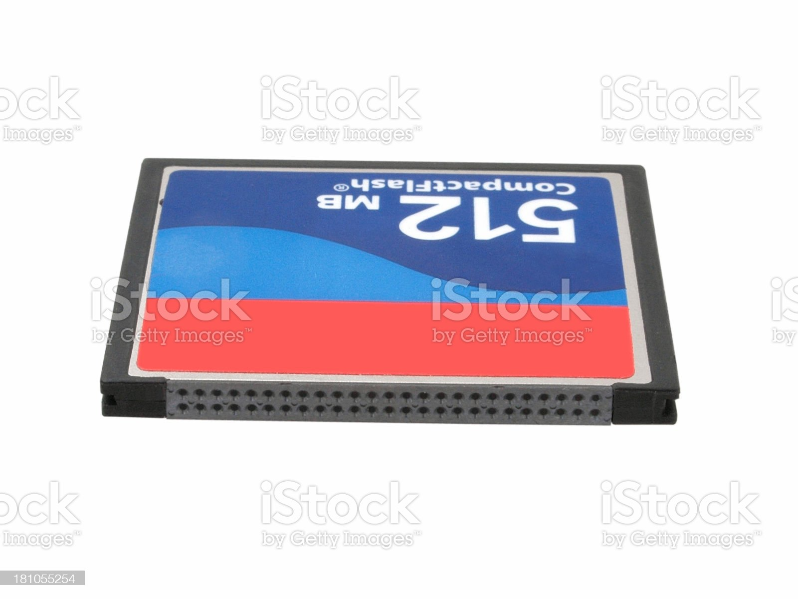 Compact Flash Card royalty-free stock photo