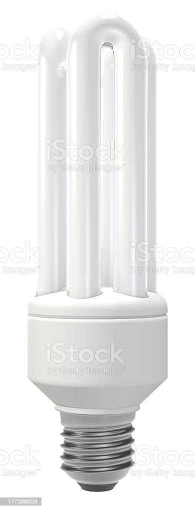 Compact fluorescent lamp royalty-free stock photo