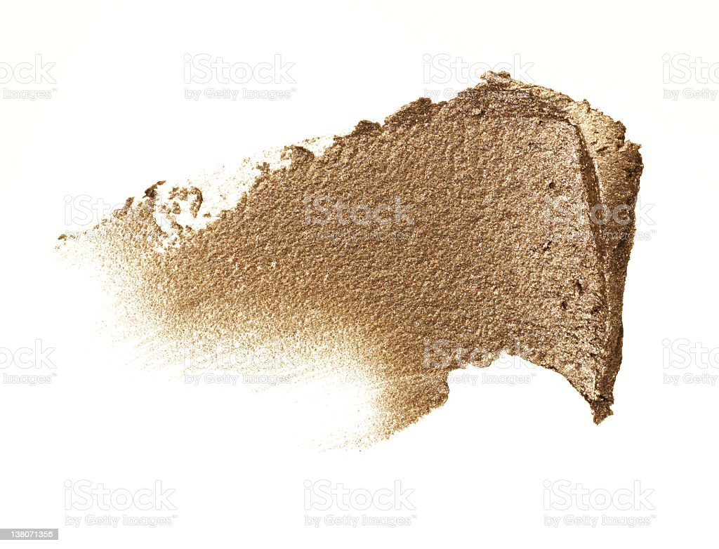 Compact Gold Cream stock photo