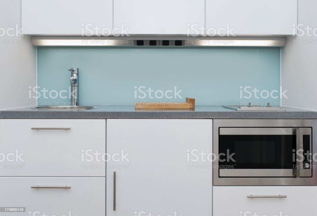 Compact kitchen royalty-free stock photo