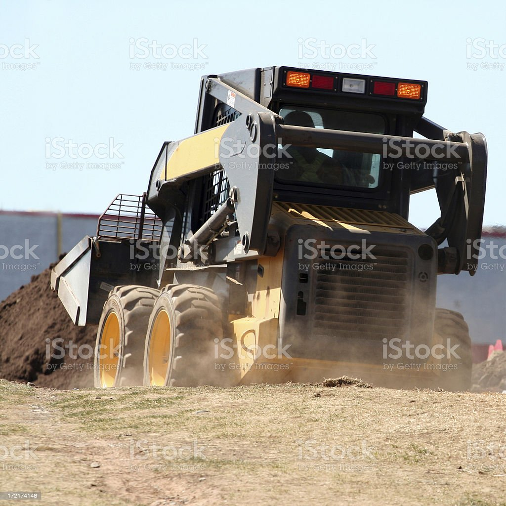 Compact Loader - 3 stock photo