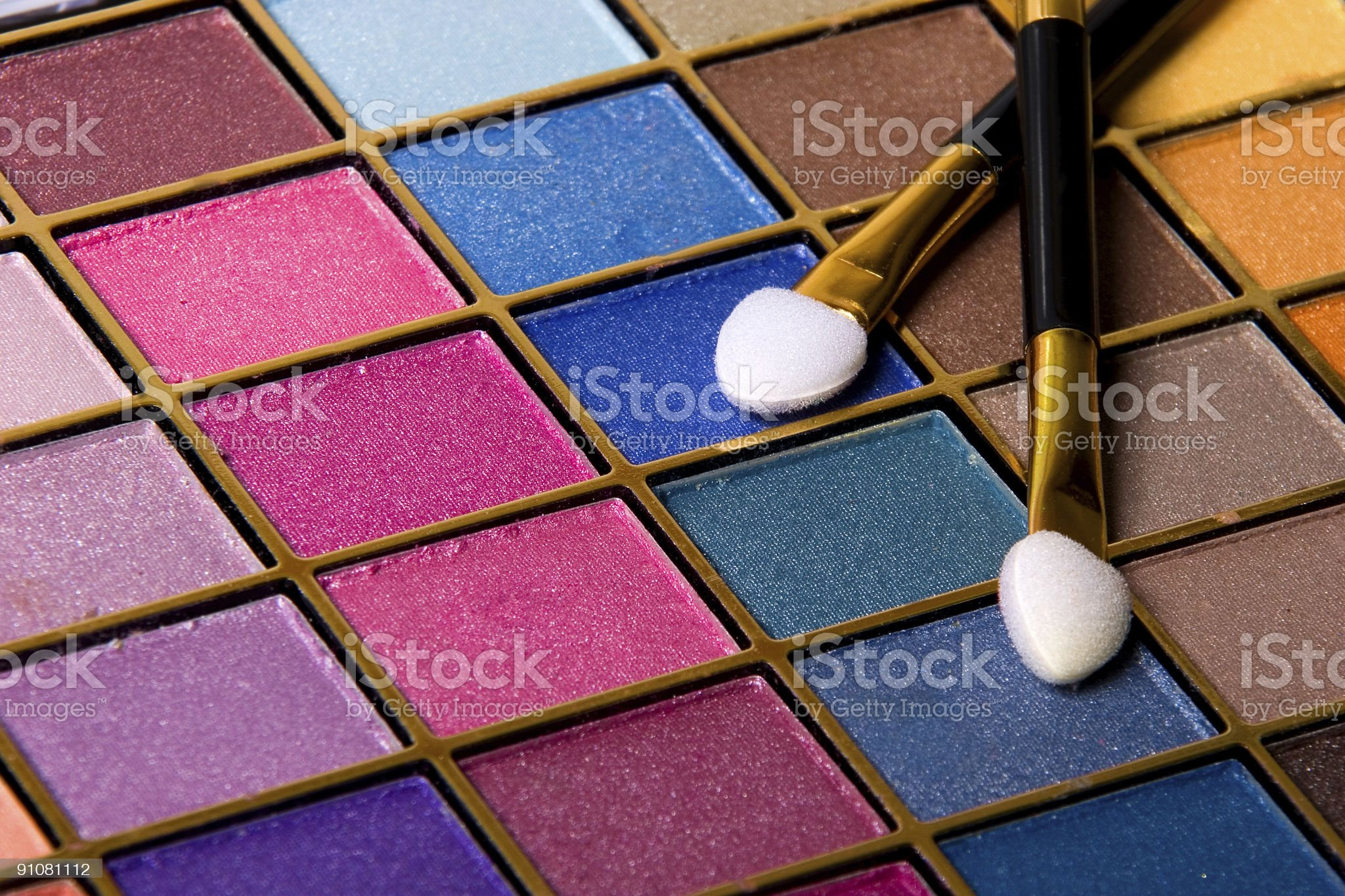 compact makeup set royalty-free stock photo