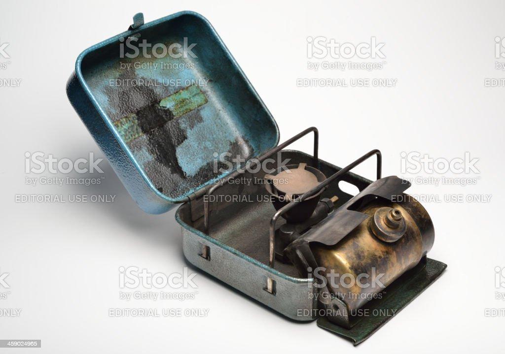 Compact stove stock photo