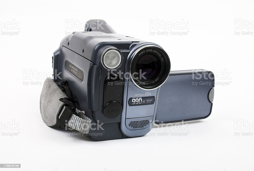 Compact video camera stock photo