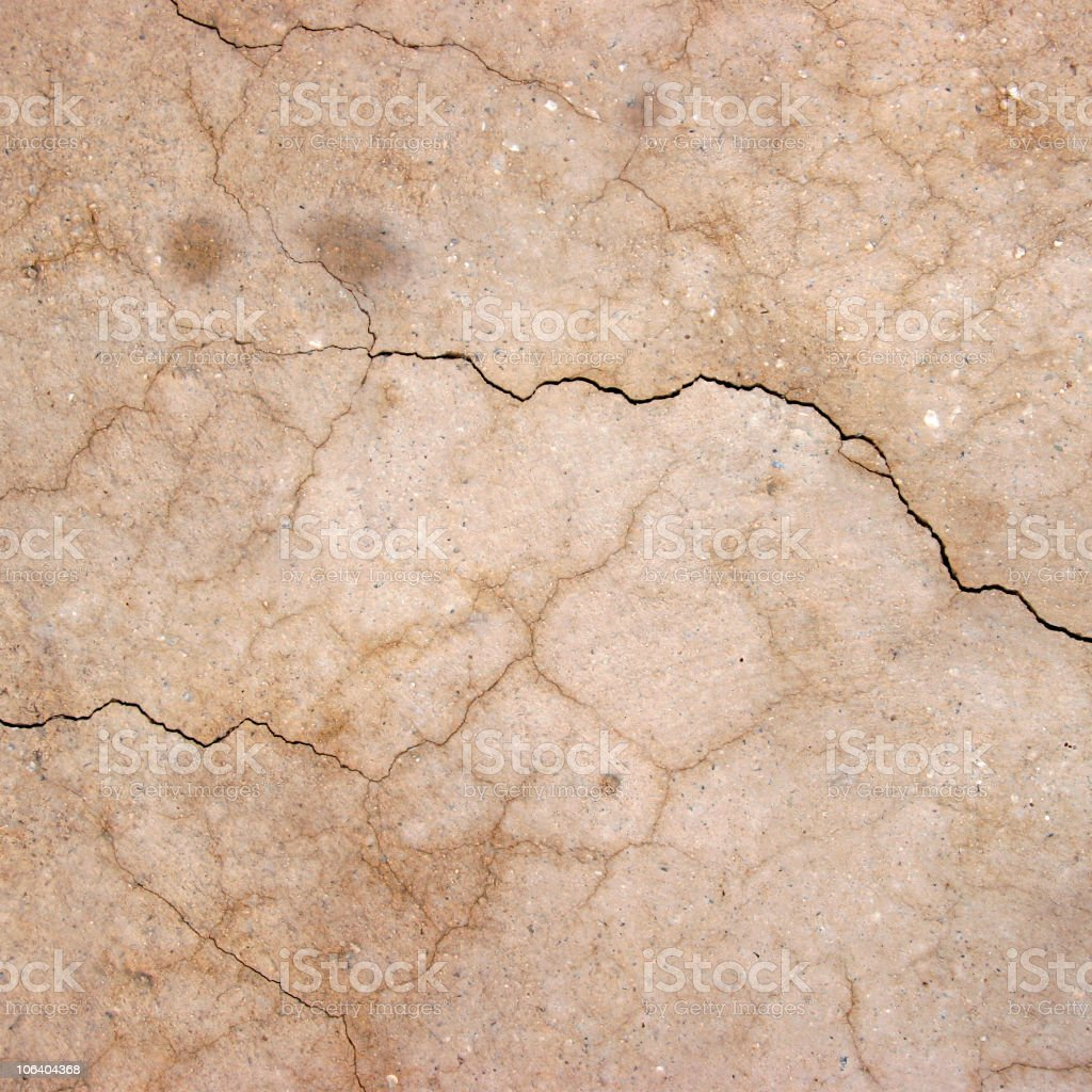 Compacted loam, Egypt royalty-free stock photo