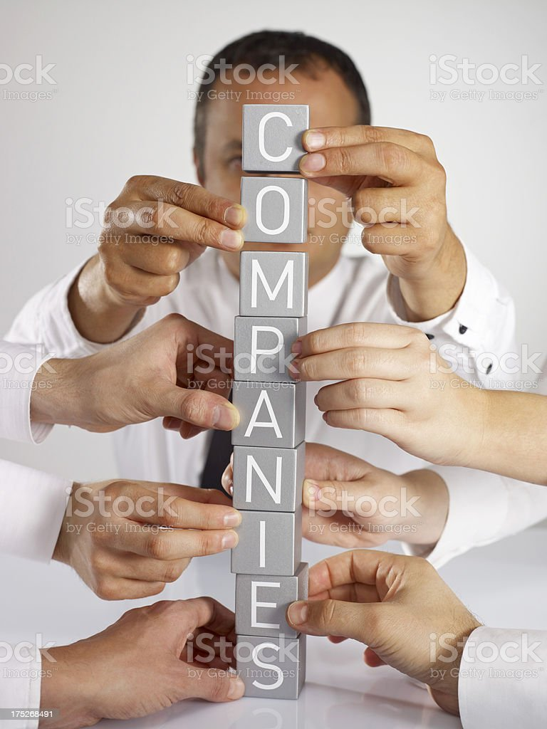 Companies royalty-free stock photo