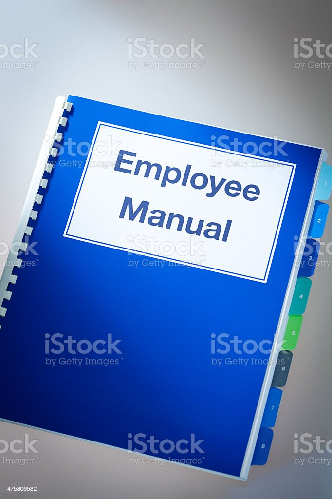Company Human Resource Employee Manual For Recruitment And