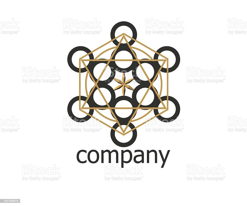 Company logo royalty-free stock photo