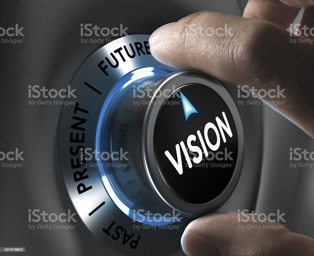 Company or Corporate Vision Concept stock photo