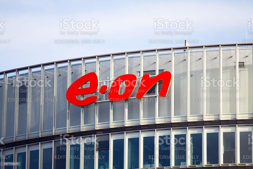 E.ON company stock photo