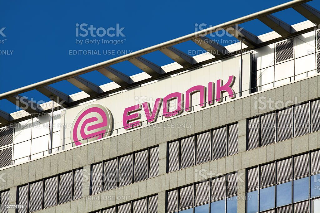 EVONIK company stock photo
