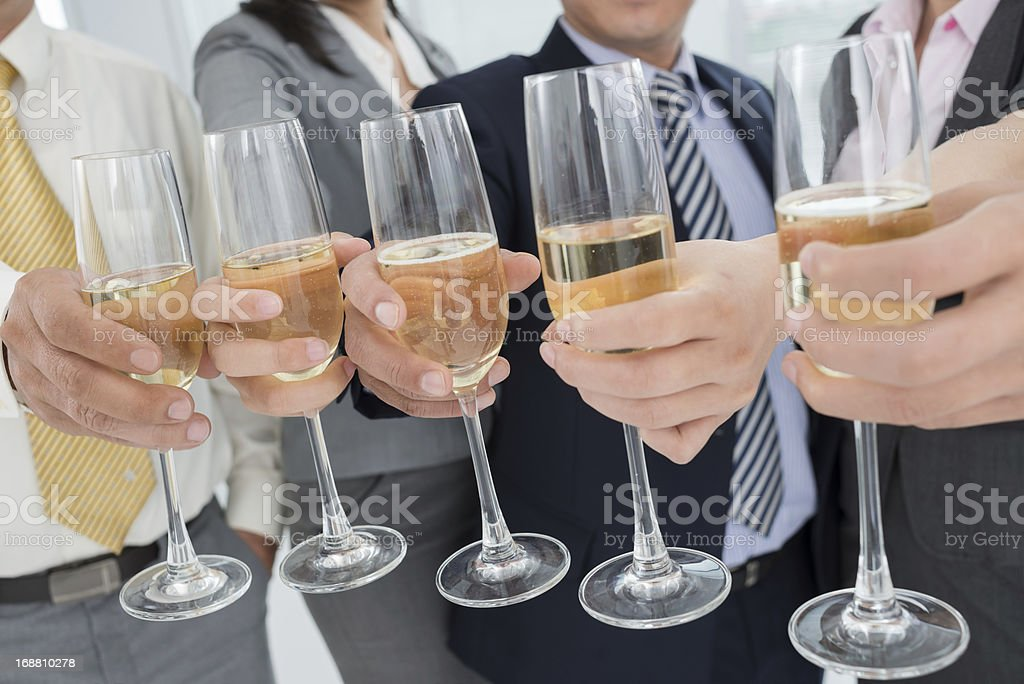 Company's celebration royalty-free stock photo