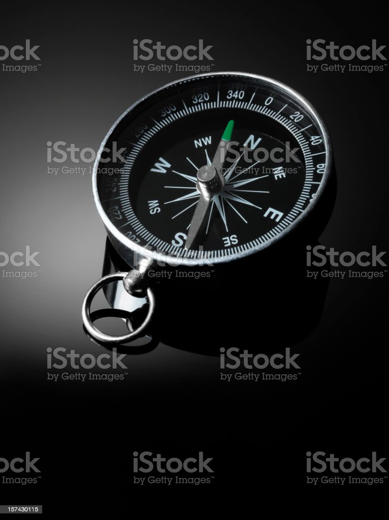 Compass Bearings royalty-free stock photo