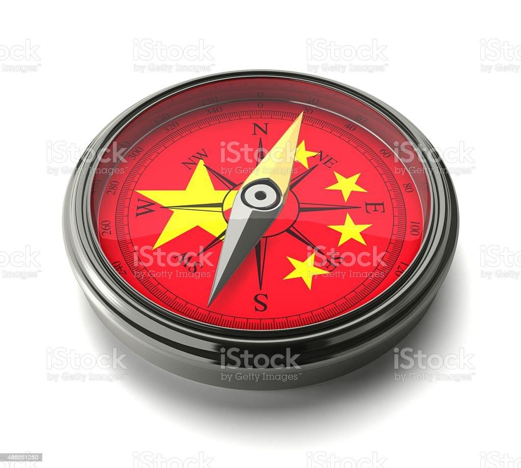 "Compass 'China"" stock photo"