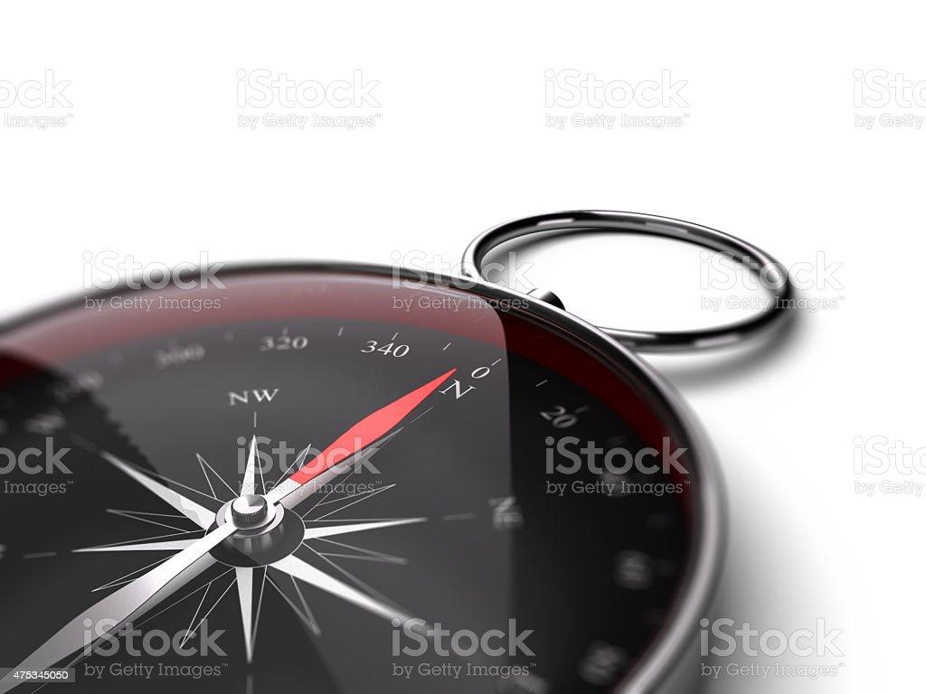 Compass, Decision Help Concept stock photo