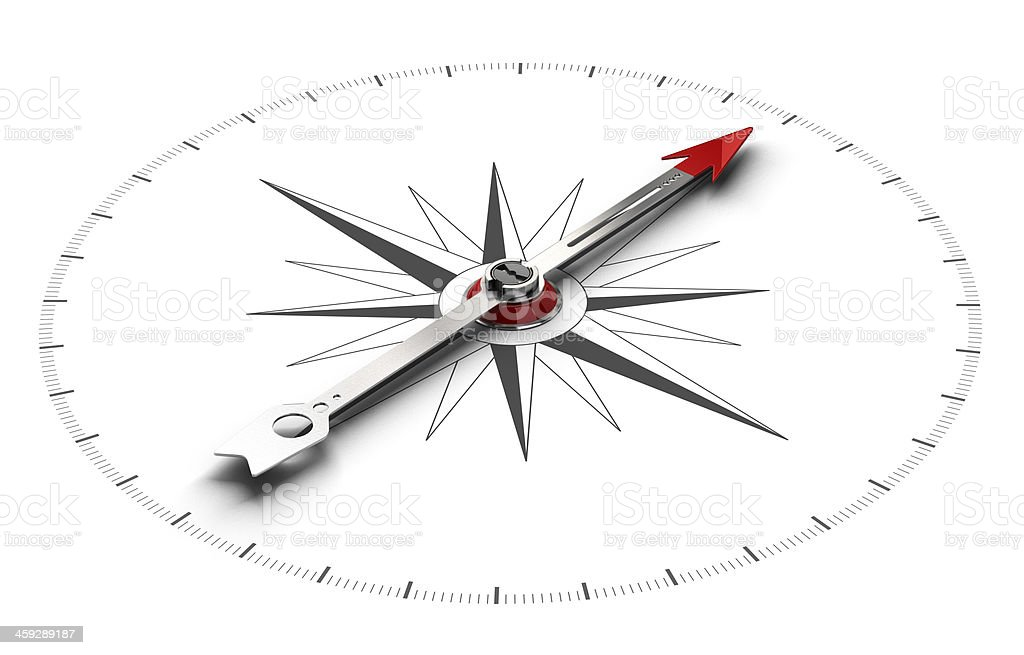 Compass Direction Background stock photo
