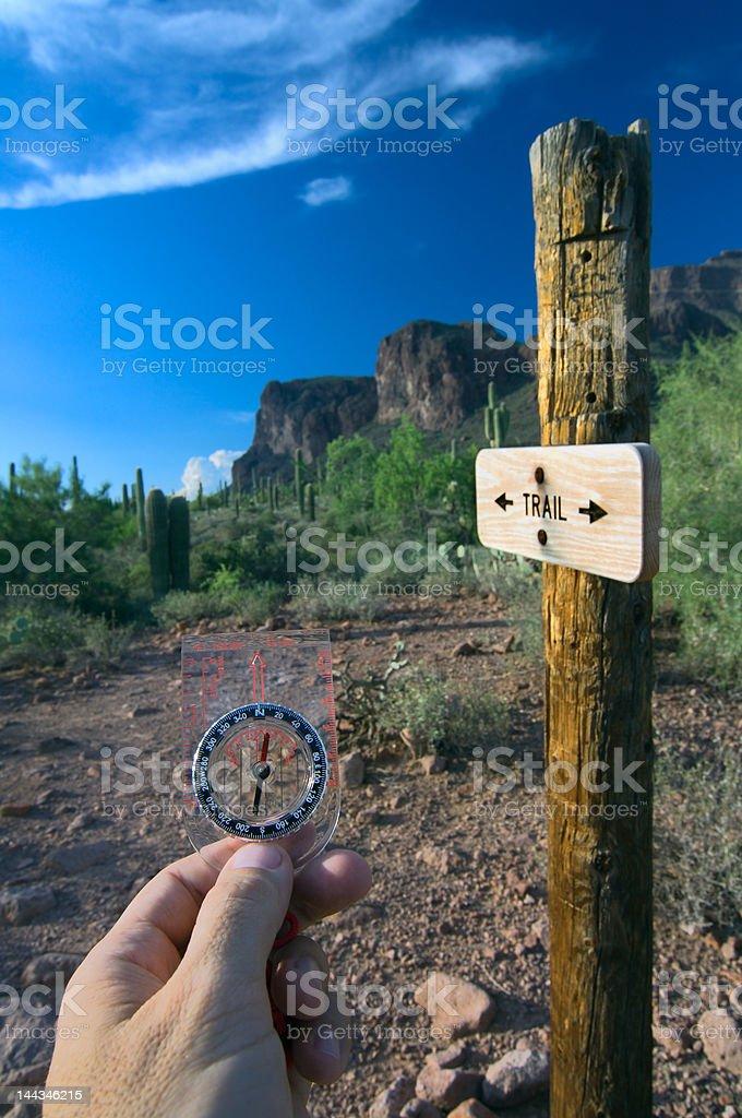 Compass Navigation stock photo