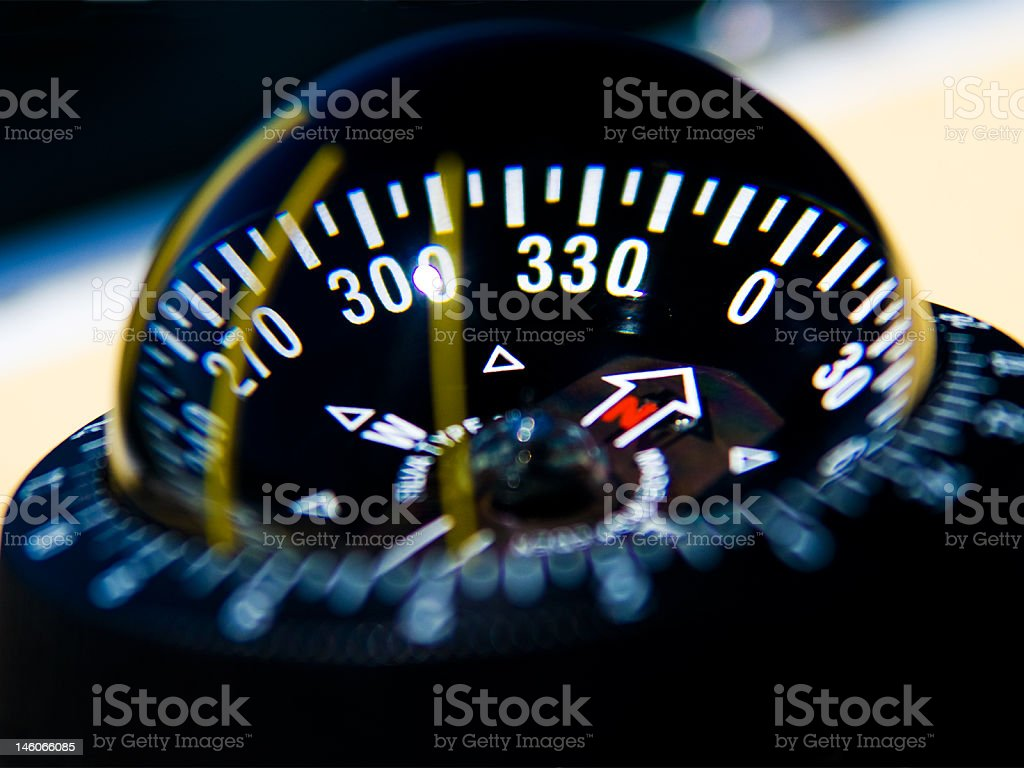 Compass royalty-free stock photo