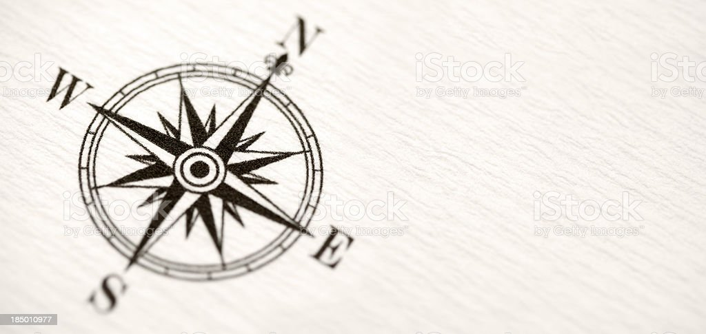Compass stock photo