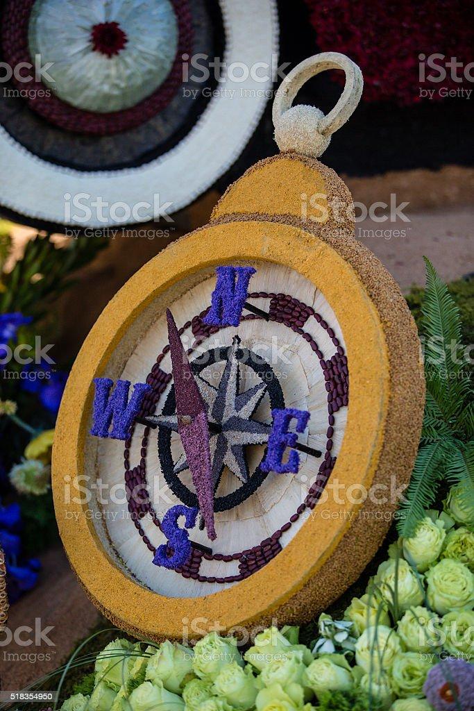 Compass Rose Parade 2016 stock photo