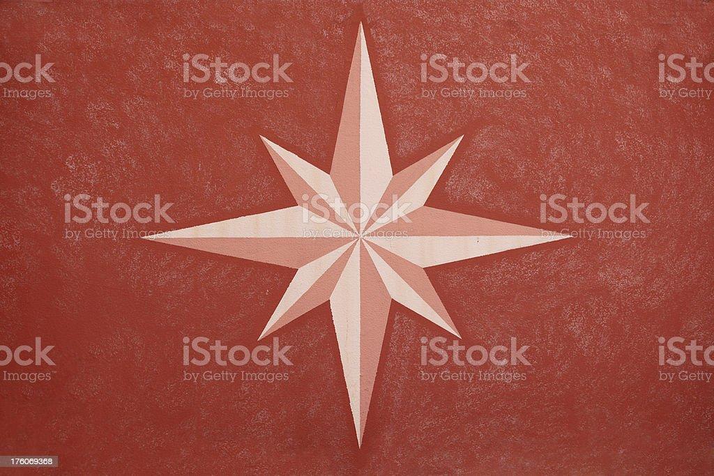 Compass rose stock photo