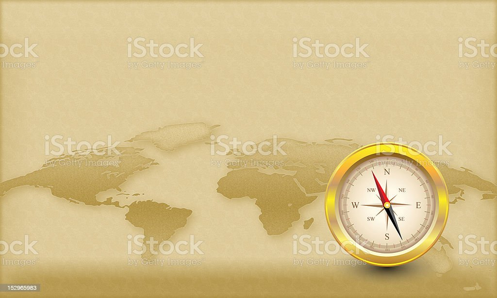 Compass Theme stock photo