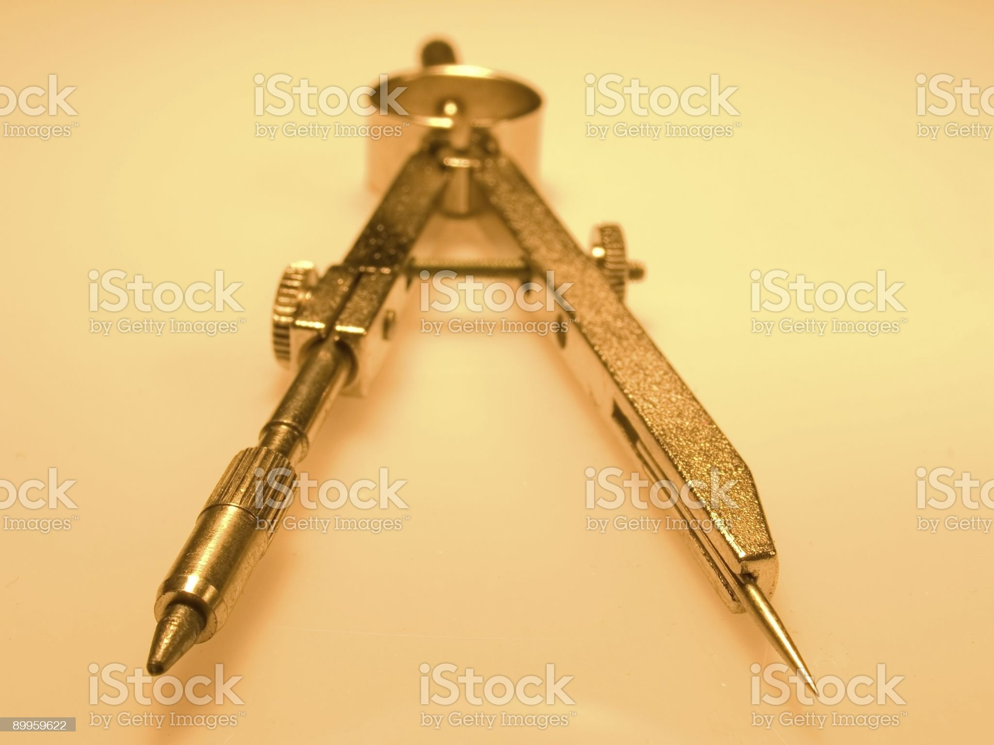 Compasses close-up. royalty-free stock photo