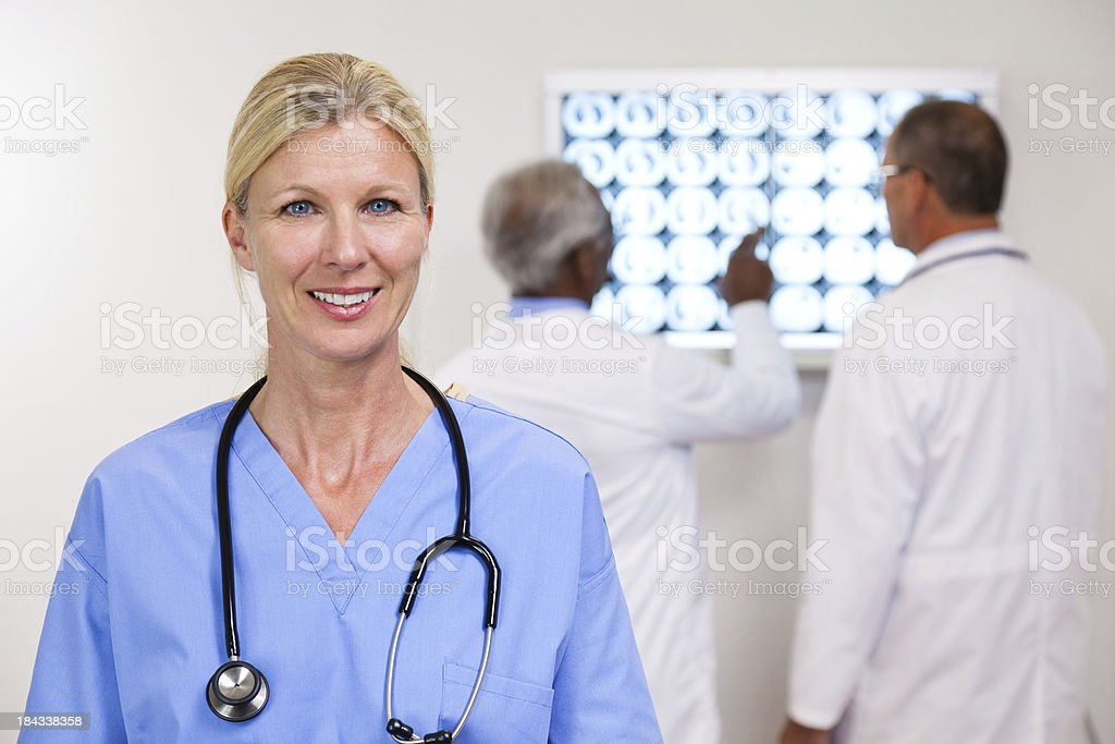 Compassionate Nurse royalty-free stock photo