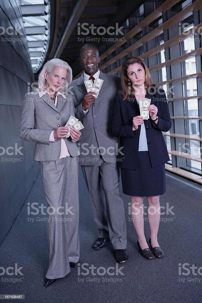 Compensational Inequities Full Body stock photo