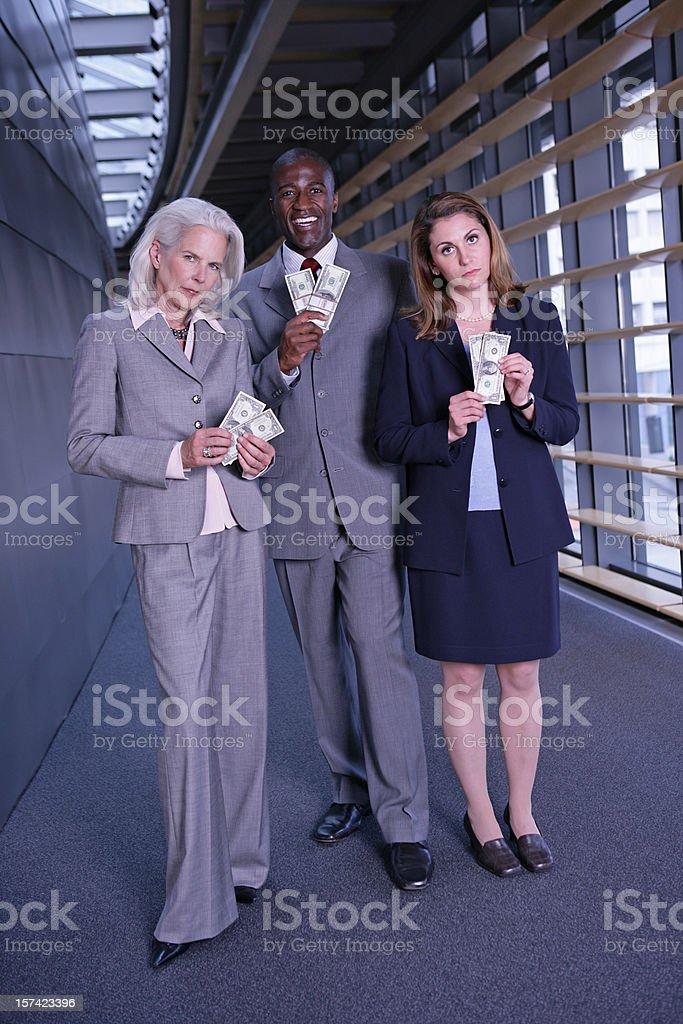 Compensational Inequities Full Body Vertical stock photo