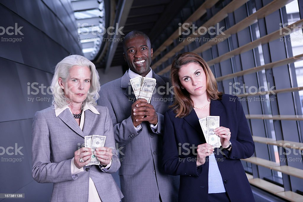 Compensational Inequities stock photo
