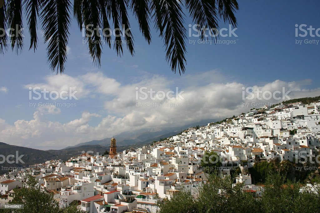 Competa Andalusia royalty-free stock photo