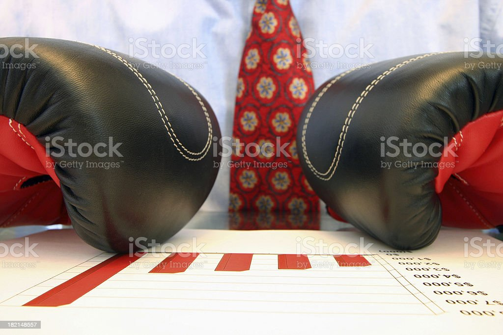 Compete royalty-free stock photo