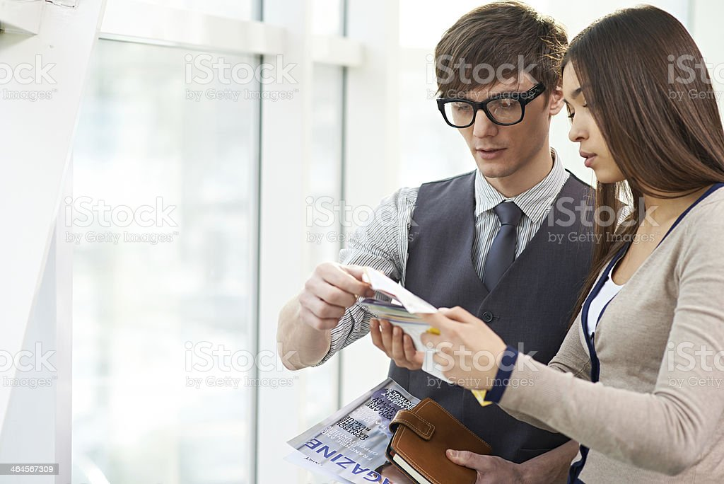 Competent designers stock photo