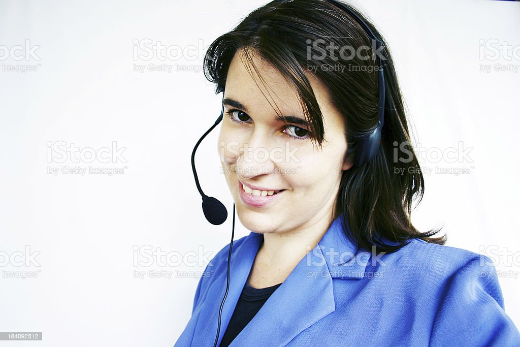 Competent Technical Support royalty-free stock photo