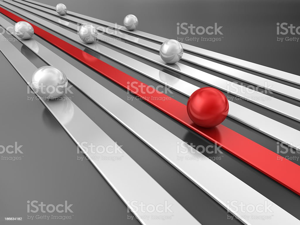 Competition - Abstract stock photo