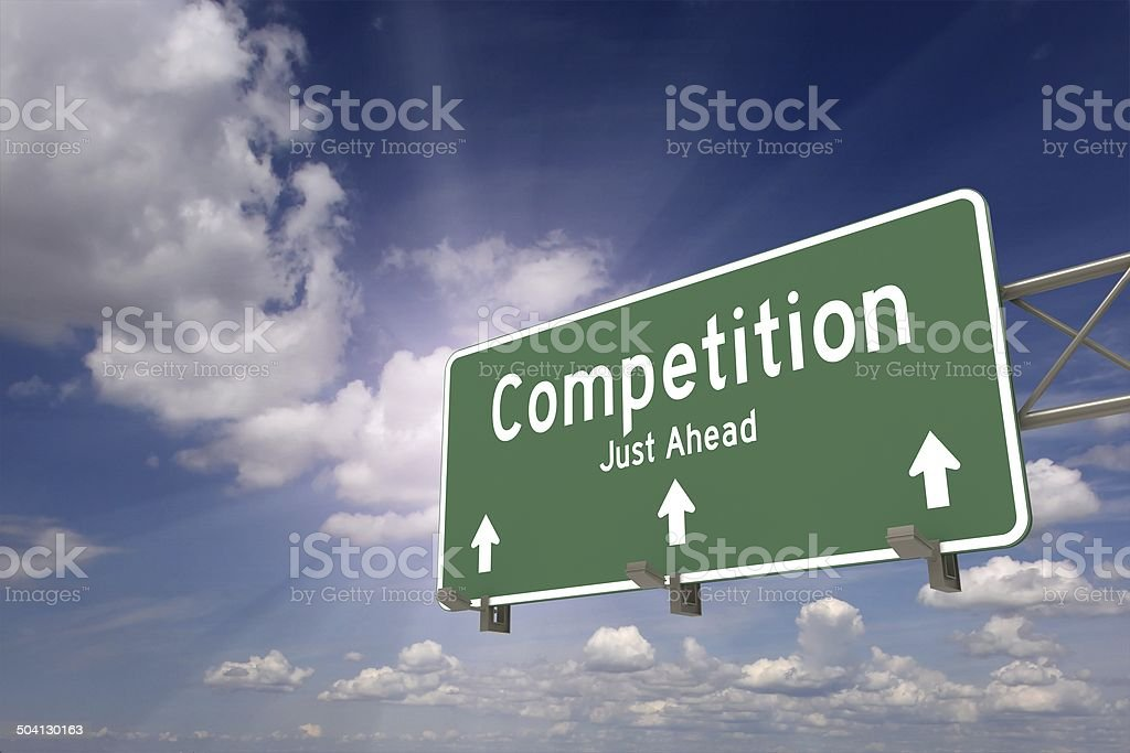 Competition stock photo