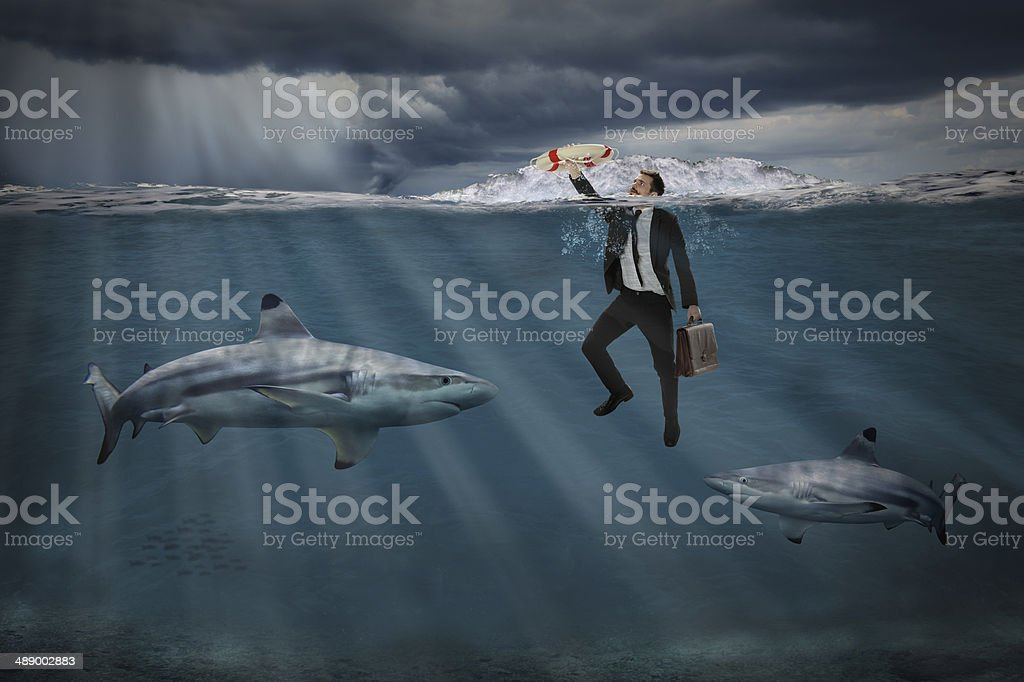 Competitive Business Concept stock photo