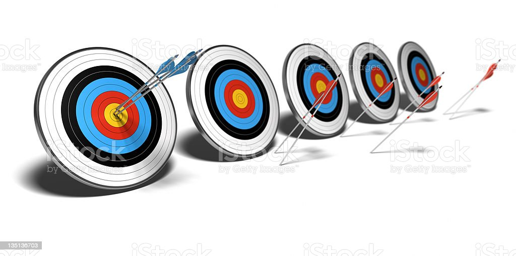 competitive edge - best competitor stock photo