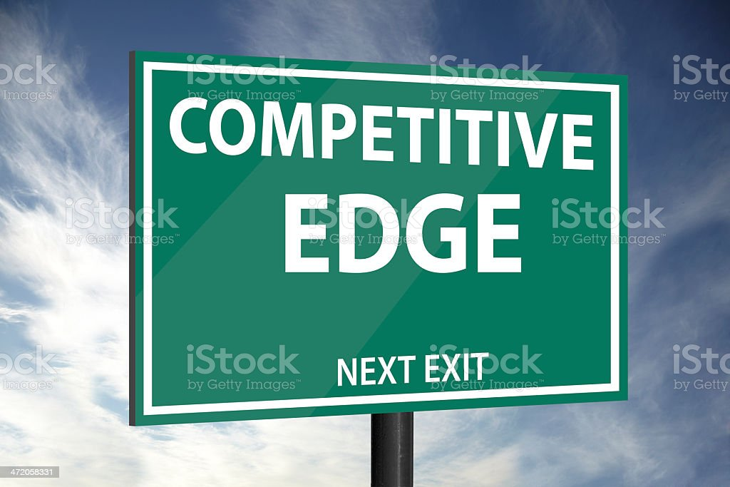 Competitive Edge royalty-free stock photo