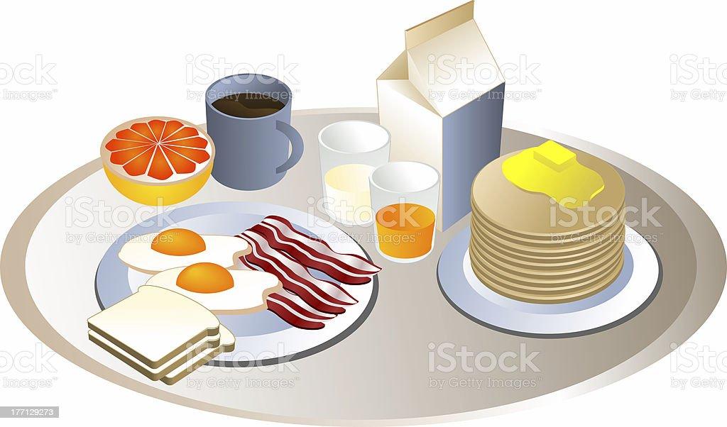 完全な朝食 ロイヤリティフリーストックフォト