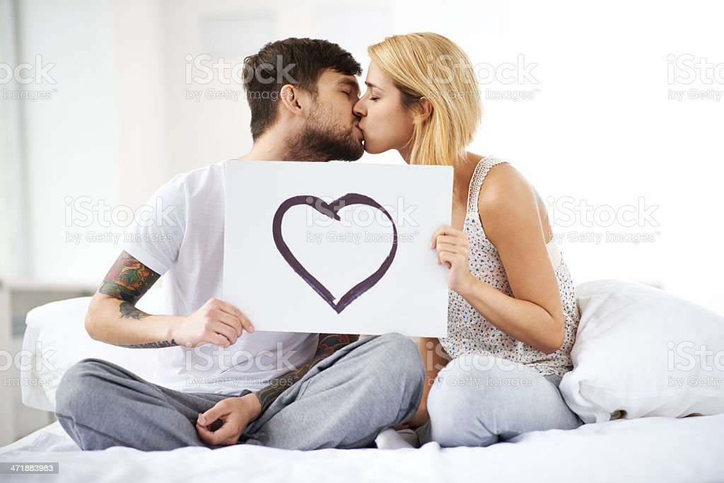 Complete love royalty-free stock photo