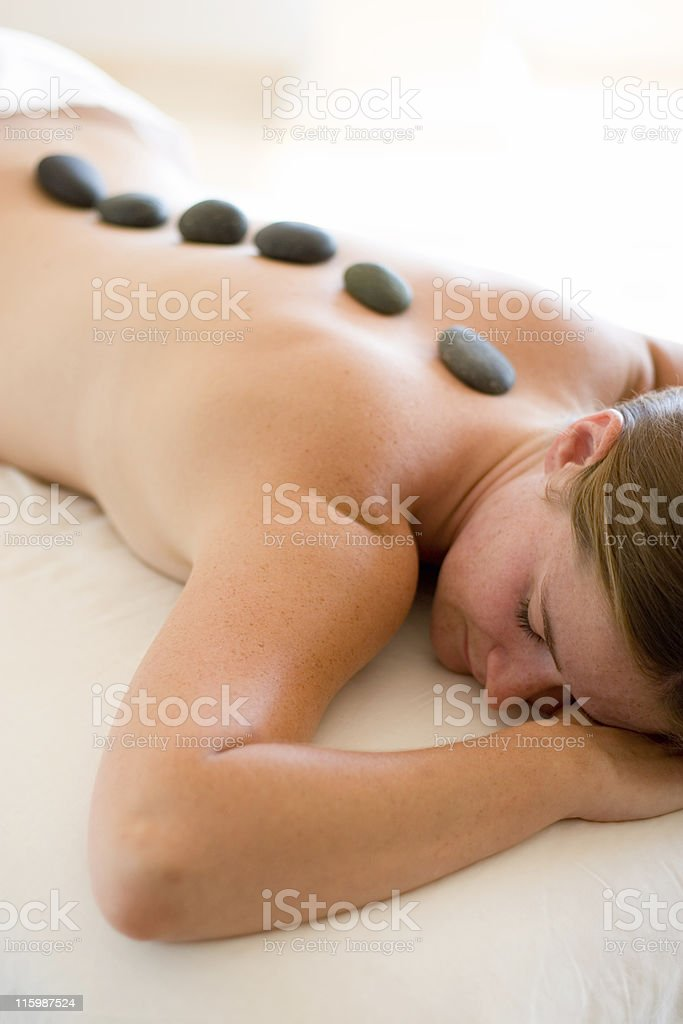 Complete Relaxation royalty-free stock photo