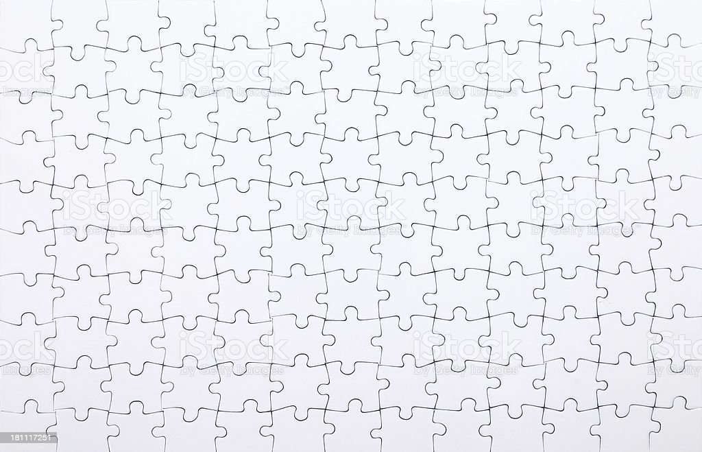 Completed puzzle royalty-free stock photo