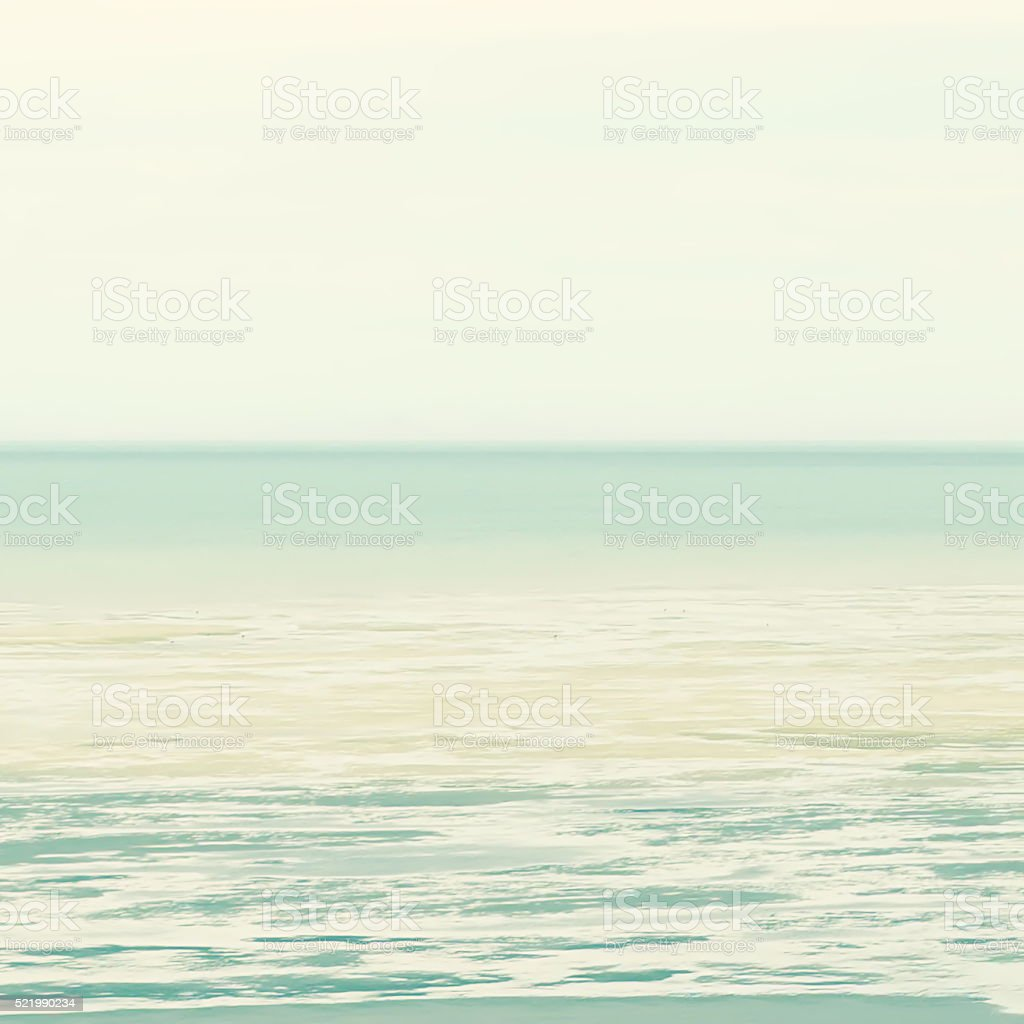 Completely Defocussed Blurry Sea Background stock photo